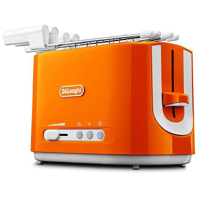 DeLonghi Cte 2303.O Tostapane Potenza 550 Watt Colore Arancione