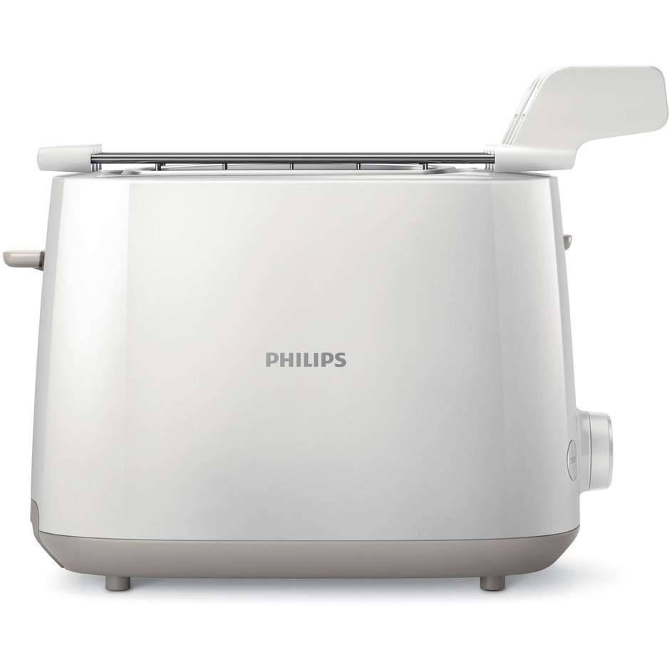 Philips Hd2583/00 Daily Collection Tostapane Potenza 600 Watt Colore Bianco