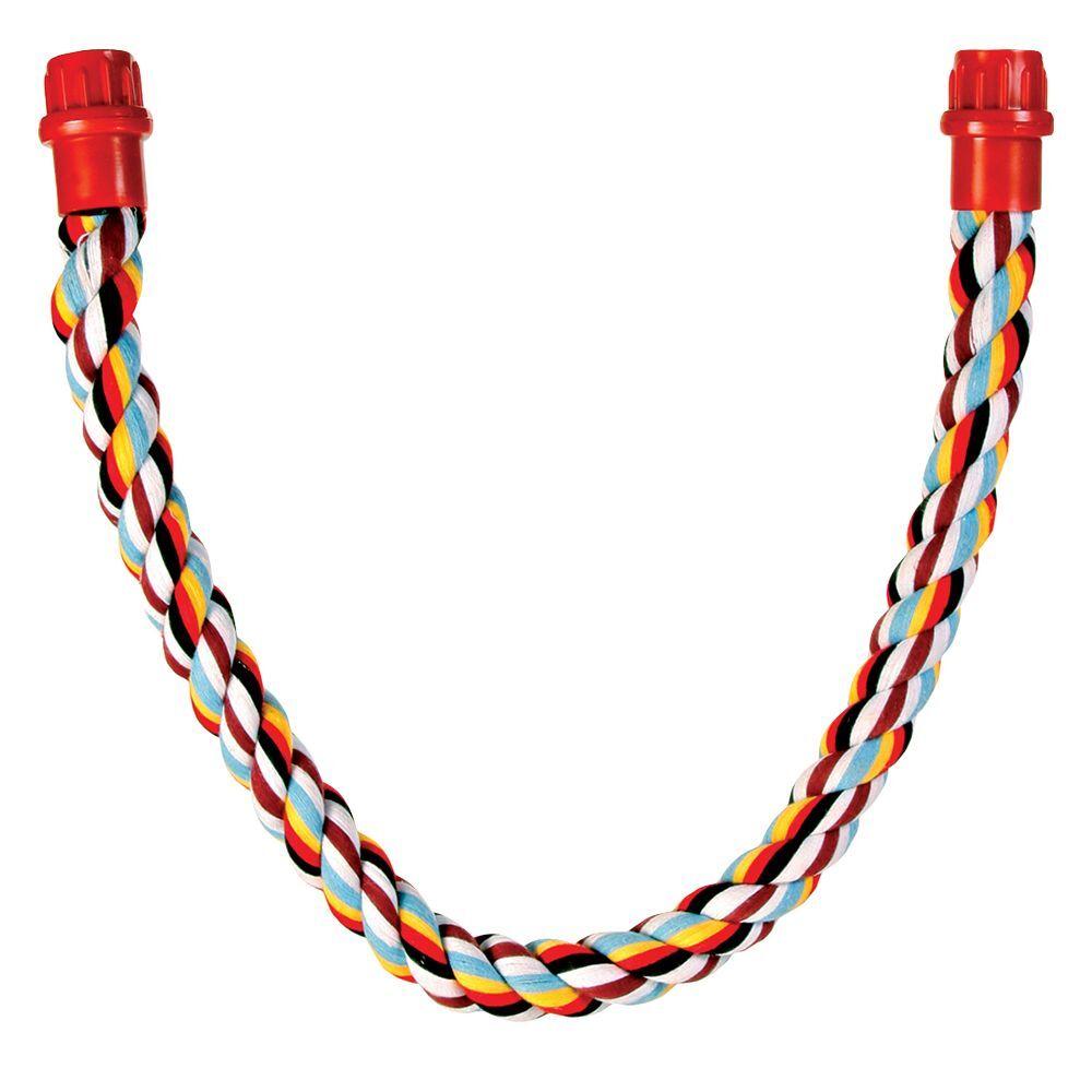 Trixie Altalena in corda di cotone Trixie per piccoli animali - L 66 cm, Ø 18 mm