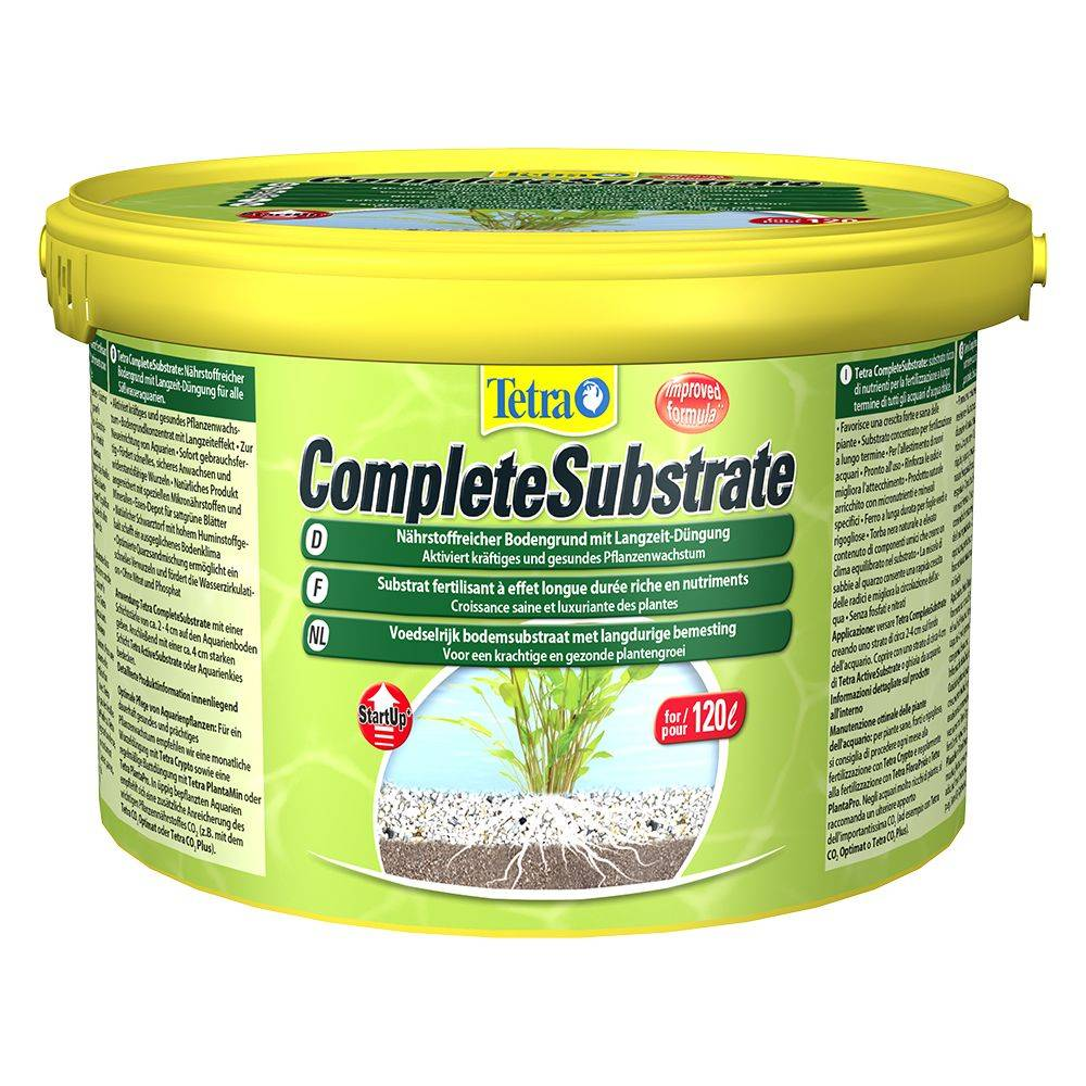 Tetra Complete Substrate - 5 kg, per acquari da 120 l