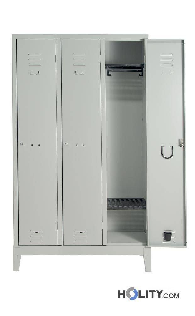 Armadietto Spogliatorio Con Porta Scarpe H228_27