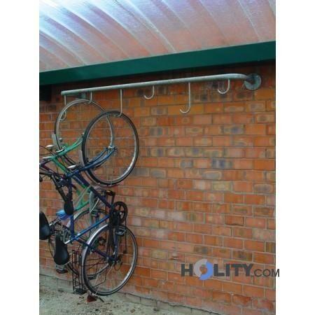 portabiciclette a parete h28002