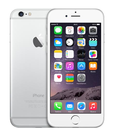 Apple iPhone 6 - 128GB - Argento