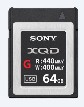 Sony XQD Serie G 64GB 440 MB/S
