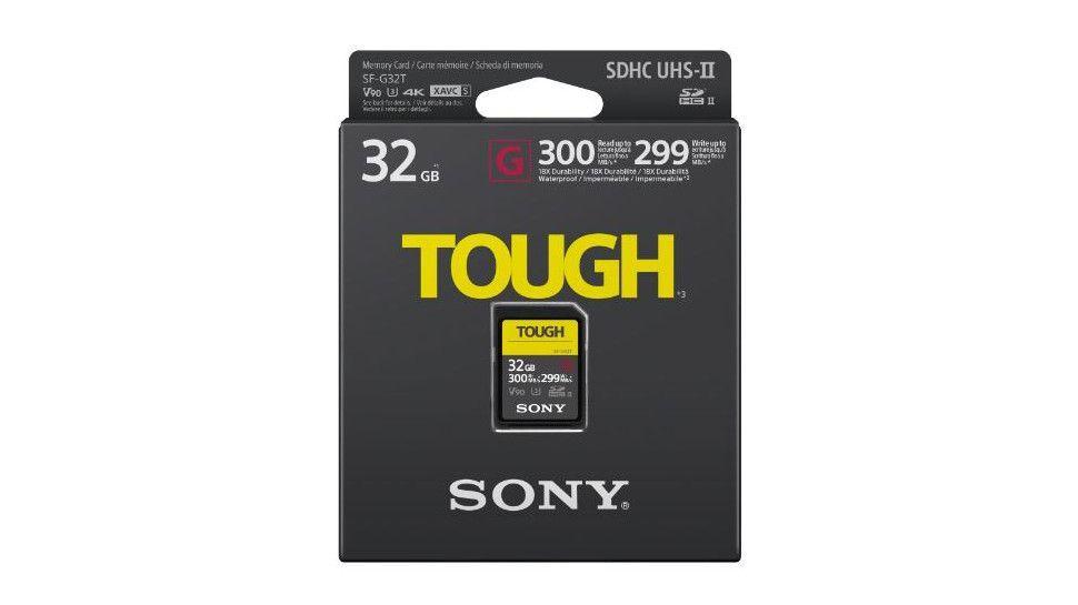 sony sd sf-g serie tough 32gb - 300mb/s