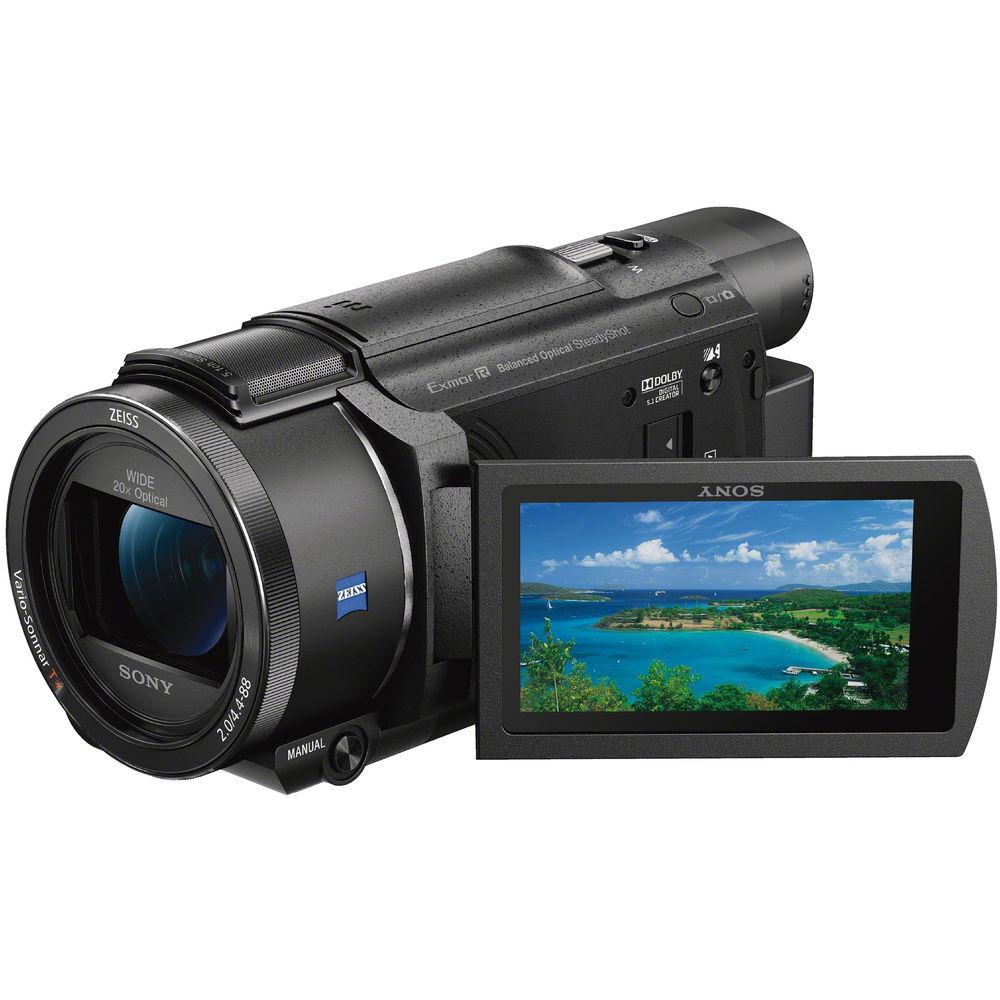 Sony FDR-AX53 - Videocamera Compatta 4K Ultra-HD - 2 Anni Di Garanzia