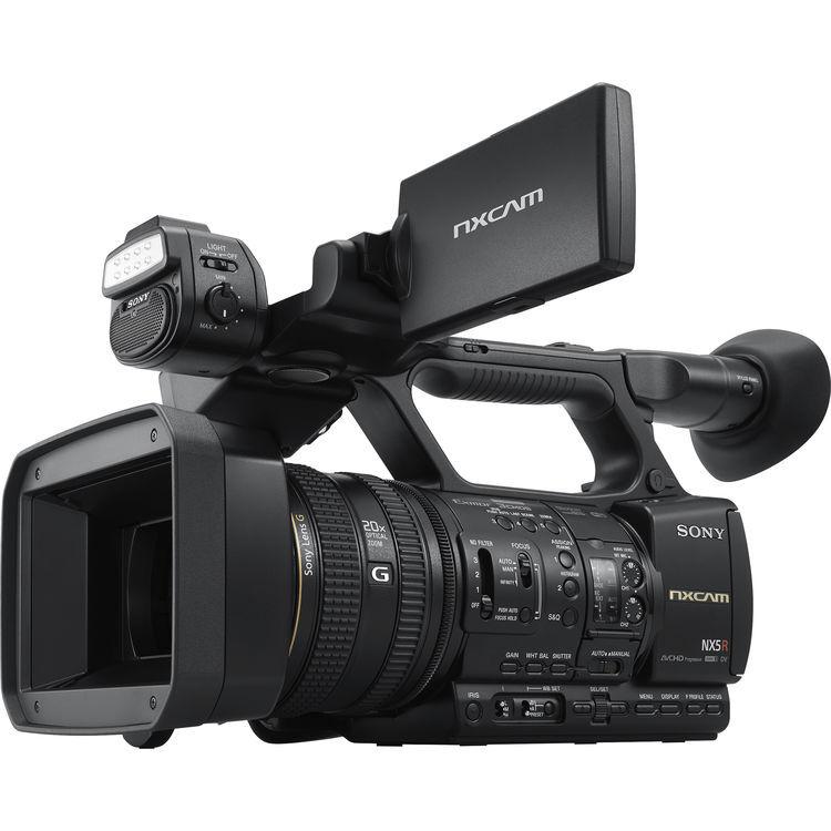 Sony HXR-NX5R - Videocamera Compatta Full-HD Con Flash Led Incorporato - 2 Anni Di Garanzia
