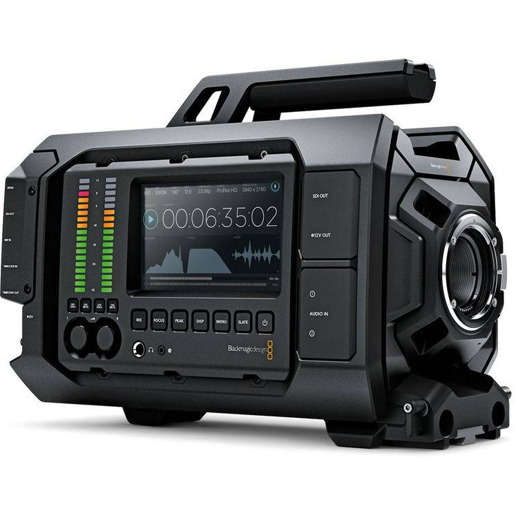 BLACKMAGIC URSA 4K – Videocamera Professionale – Innesto EF