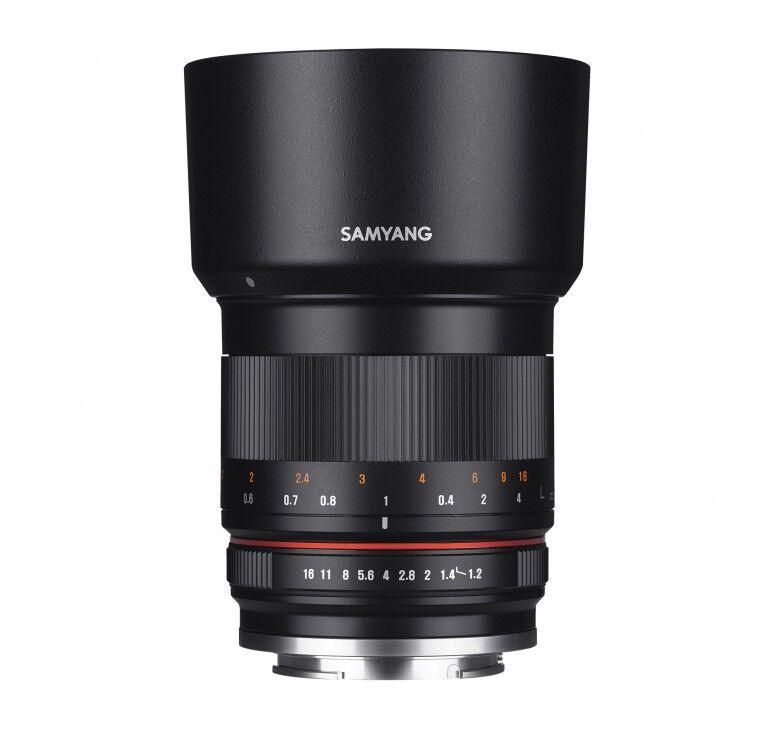 Samsung SAMYANG 50mm F/1.2 AS UMC CS - Sony Innesto E - 2 Anni Di Garanzia