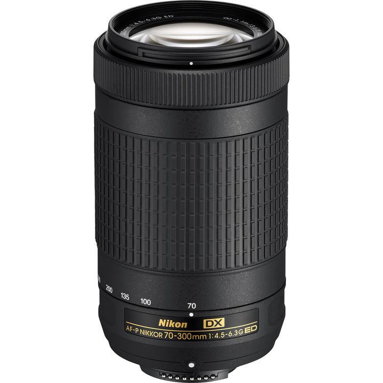 Nikon 70-300mm F/4.5-6.3G AF-P DX ED - 2 Anni Di Garanzia