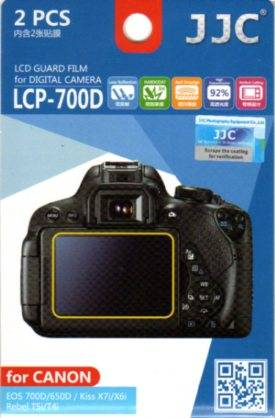 JJC - FOTOGRAPHY EQUIPMENT JJC LCP-700D - PELLICOLA PROTETTIVA - CANON EOS 700D