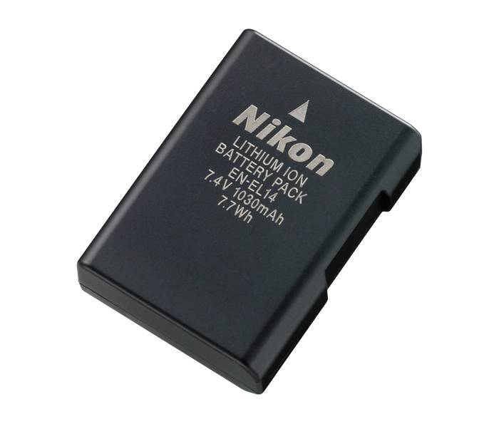 Nikon EN-EL14 - BATTERIA NIKON D5100 - D3100 - P7000