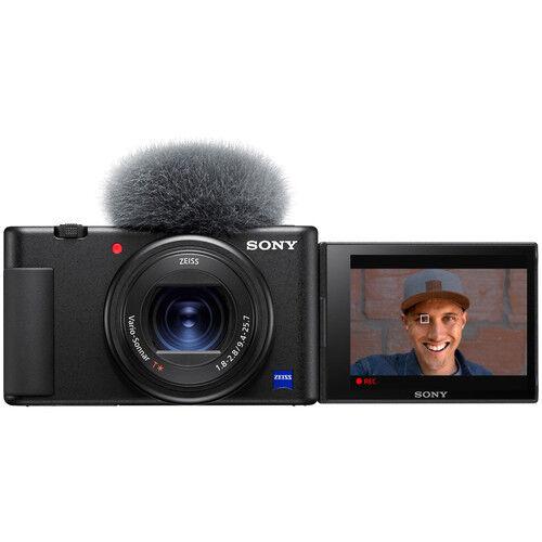 sony zv-1 - fotocamera digitale compatta - menu inglese - 4 anni di garanzia in italia