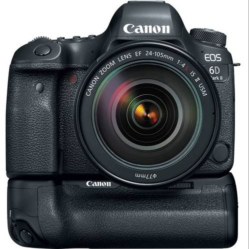 Canon EOS 6D Mark II + 24-105mm F/4L IS II USM + BG-E21 - 2 Anni Di Garanzia in Italia