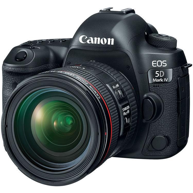 Canon EOS 5D Mark IV + EF 24-70mm F/4 L IS USM - 4 Anni Di Garanzia in Italia