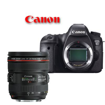Canon EOS 6D + 24-70mm F/4L IS USM - Man. ITA - 4 ANNI DI GARANZIA