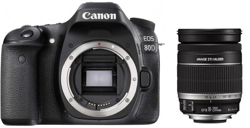 Canon EOS 80D + 18-200mm IS - 4 ANNI DI GARANZIA IN ITALIA