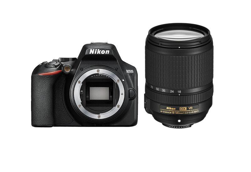 Nikon D3500 + 18-140 F/3.5-5.6G ED VR - 4 Anni di Garanzia in Italia