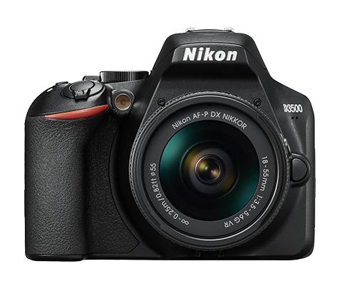 Nikon D3500 + 18-55mm AF-P DX VR - 4 Anni di Garanzia in Italia