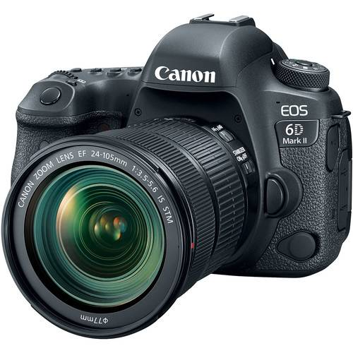 Canon EOS 6D Mark II + EF 24-105mm F/3.5-5.6 IS STM - 2 Anni Di Garanzia in Italia