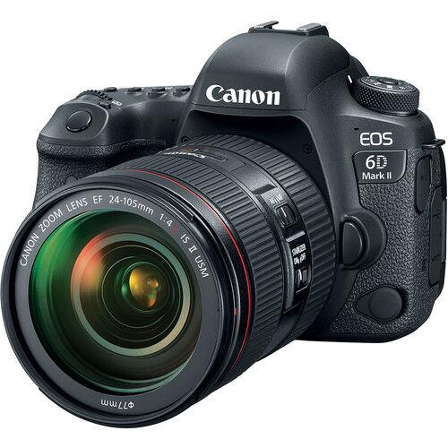 Canon EOS 6D Mark II + 24-105mm F/4L IS II USM - 4 Anni Di Garanzia in Italia