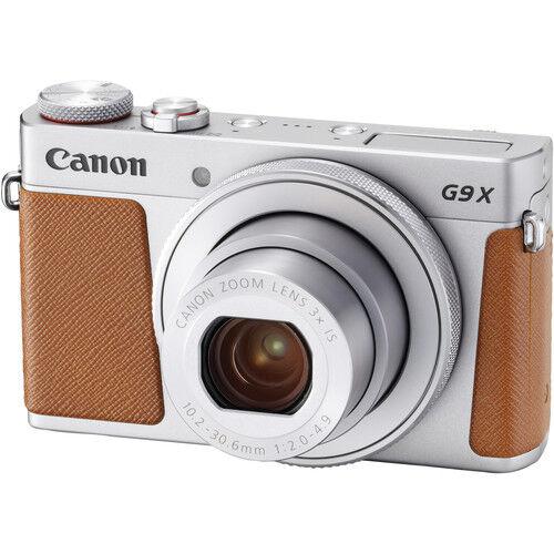 Canon PowerShot G9 X Mark II - Argento - 2 Anni Di Garanzia In Italia