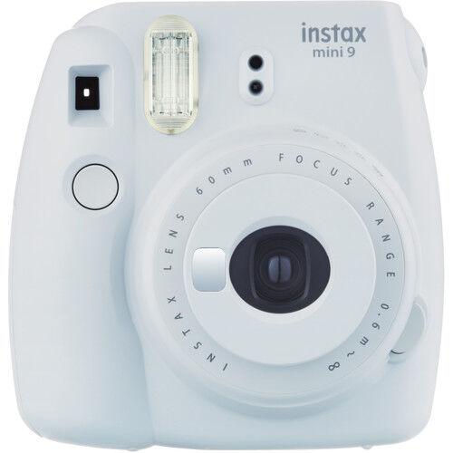 Fujifilm Instax Mini9 - Bianco - Fotocamera a Pellicola Istantanea - 2 Anni Di Garanzia in Italia