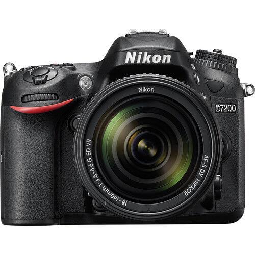Nikon D7200 + 18-140mm VR - MANUALE IN ITALIANO - 4 ANNI DI GARANZIA