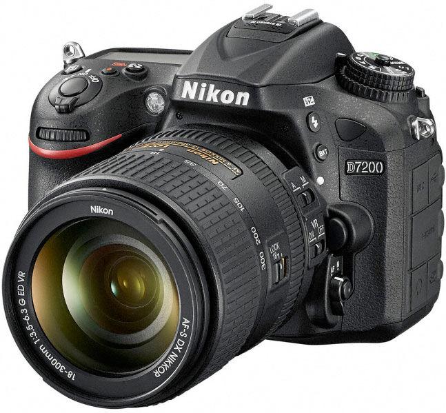 Nikon D7200 + 18-300mm VR - MANUALE IN ITALIANO - 4 ANNI DI GARANZIA