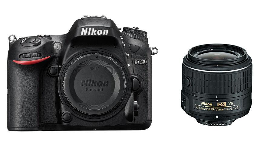 Nikon D7200 + 18-55mm VR II - MANUALE IN ITALIANO - 4 ANNI DI GARANZIA