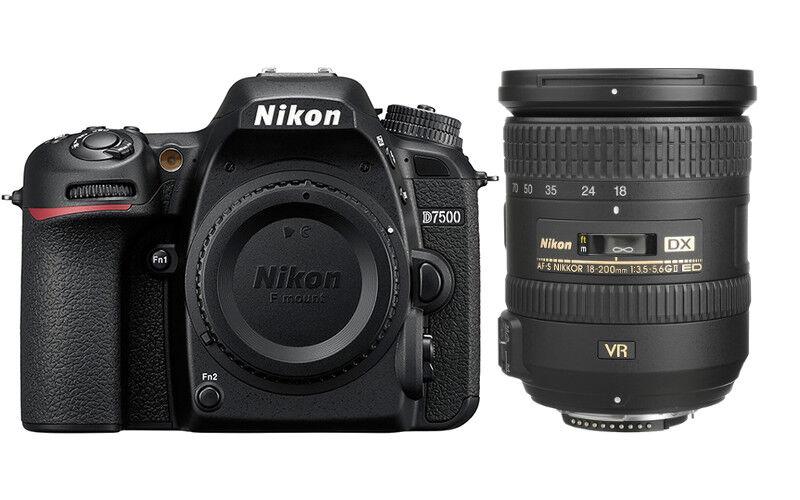 Nikon D7500 + 18-200mm VR II - 4 ANNI DI GARANZIA IN ITALIA