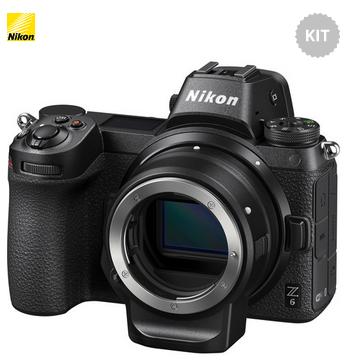 Nikon Z6 + Adattatore FTZ - Menu Inglese - 2 Anni di Garanzia in Italia