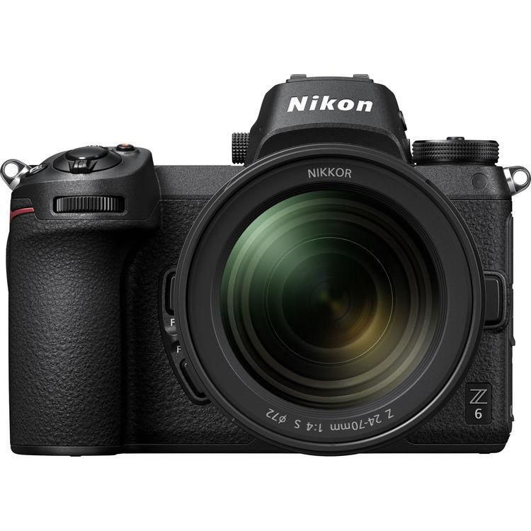 Nikon Z6 + Z 24-70 F/4 S - Menu' Inglese - 2 Anni di Garanzia in Italia