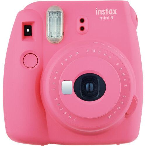 Fujifilm Instax Mini9 - Rosa - Fotocamera a Pellicola Istantanea - 2 Anni Di Garanzia in Italia