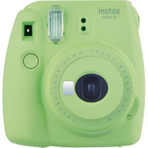 Fujifilm Instax Mini9 - Verde Lime - Fotocamera a Pellicola Istantanea - 2 Anni Di Garanzia in Itali