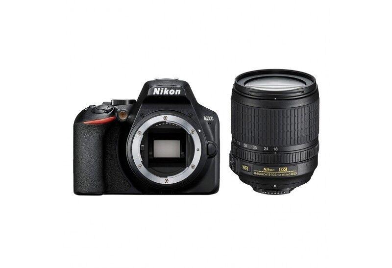 Nikon D3500 + 18-105mm F/3.5-5.6G ED AF-S DX VR - 4 Anni di Garanzia in Italia
