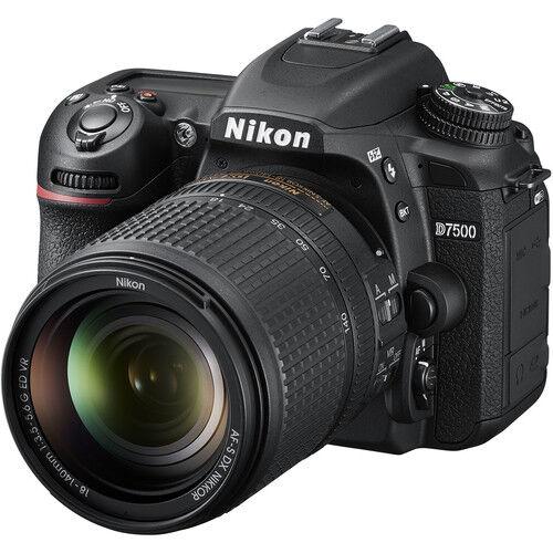 Nikon D7500 + 18-140mm VR - 2 ANNI DI GARANZIA IN ITALIA