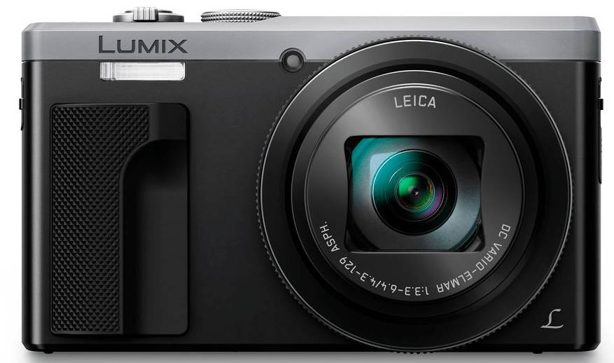 Panasonic Lumix DMC-TZ80 - Argento - 2 Anni Di Garanzia
