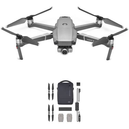 DJI Mavic 2 Zoom + DJI Mavic 2 Enterprise Fly More Kit - 2 Anni di Garanzia in Italia