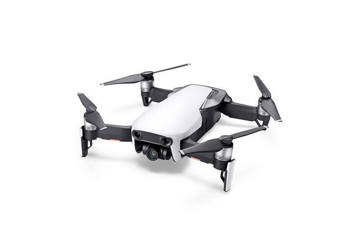 DJI MAVIC AIR ARTIC WHITE FLY MORE COMBO - DRONE QUADRICOTTERO GIMBAL 4K