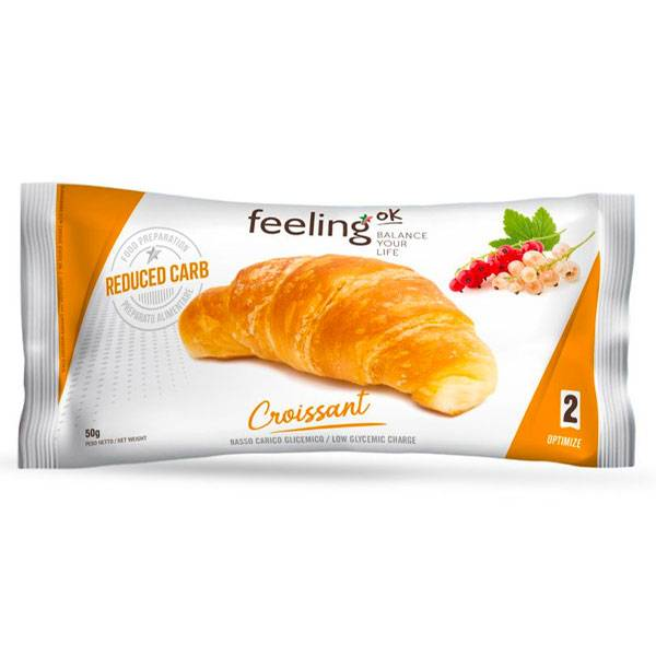 FeelingOK Croissant Proteico N.2 50 g.