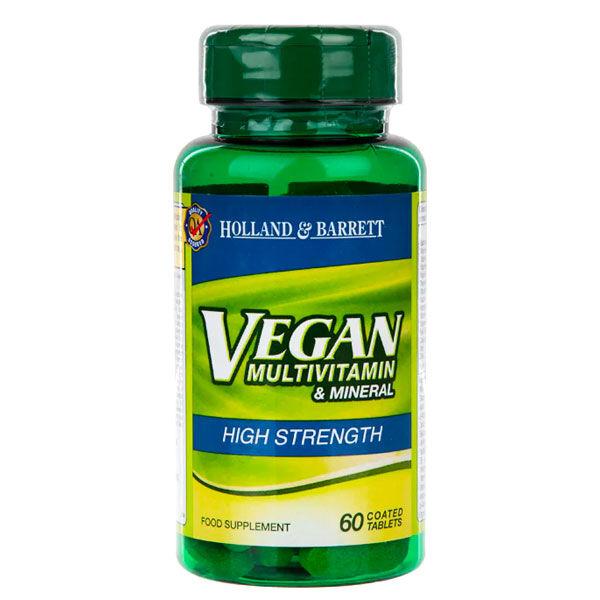 holland & barrett vegan multivitamin & mineral 60 tabs