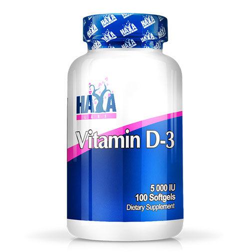 Haya Labs Vitamin D3 5000iu 100 Softgels