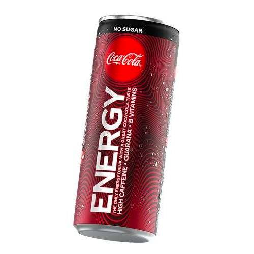 Coca-Cola Coca Cola Energy No Sugar 250 ml