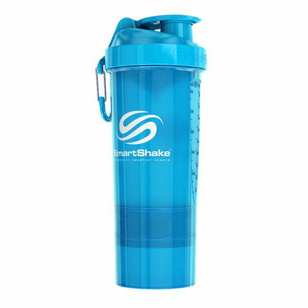 Smartshake Smart Shaker Neon Blue 800ml 800 ml