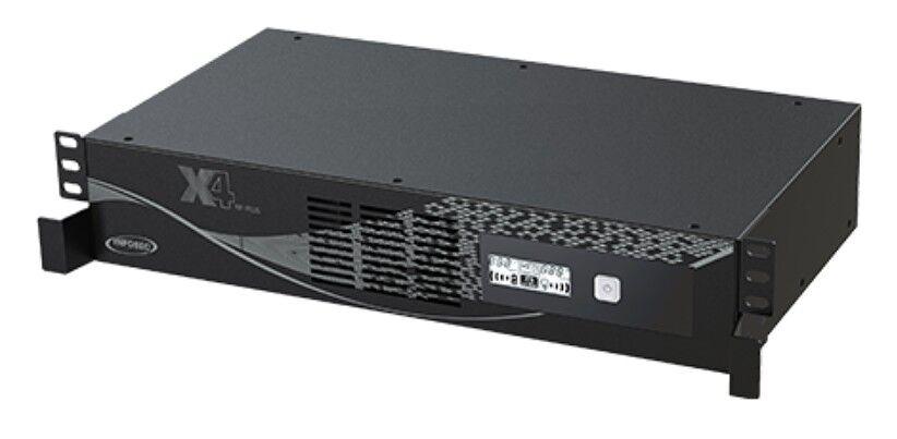 infosec gruppo di continuità ups x4 3000va line interactive a rack nero