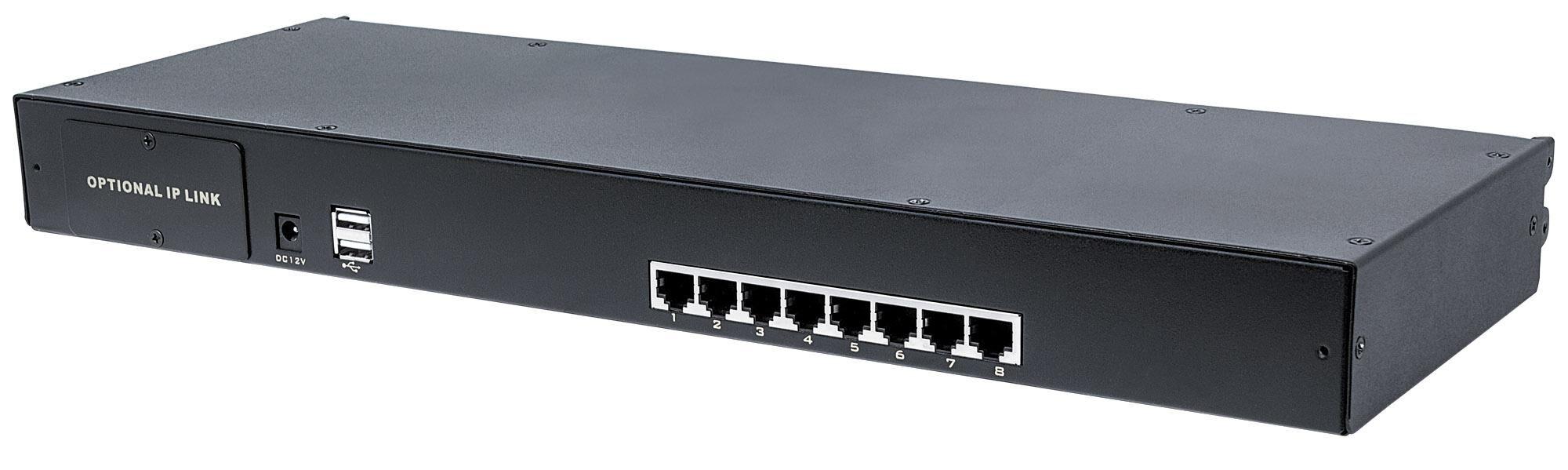 Intellinet KVM Switch Modulare 8 porte CAT5 VGA
