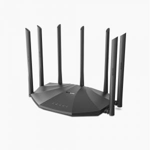 Tenda Dual-Band Gigabit WiFi Router 7 Antenne 2033 Mbps, AC23