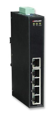 intellinet fast ethernet switch industriale 5 porte slim ies-1050a
