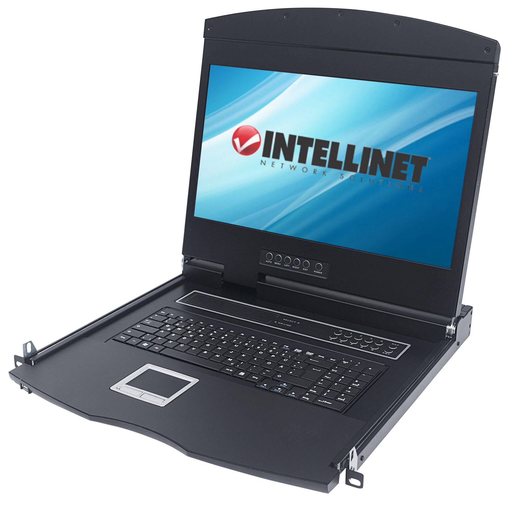 """Intellinet Console KVM Modulare con LCD 17"""" da Rack 19"""""""